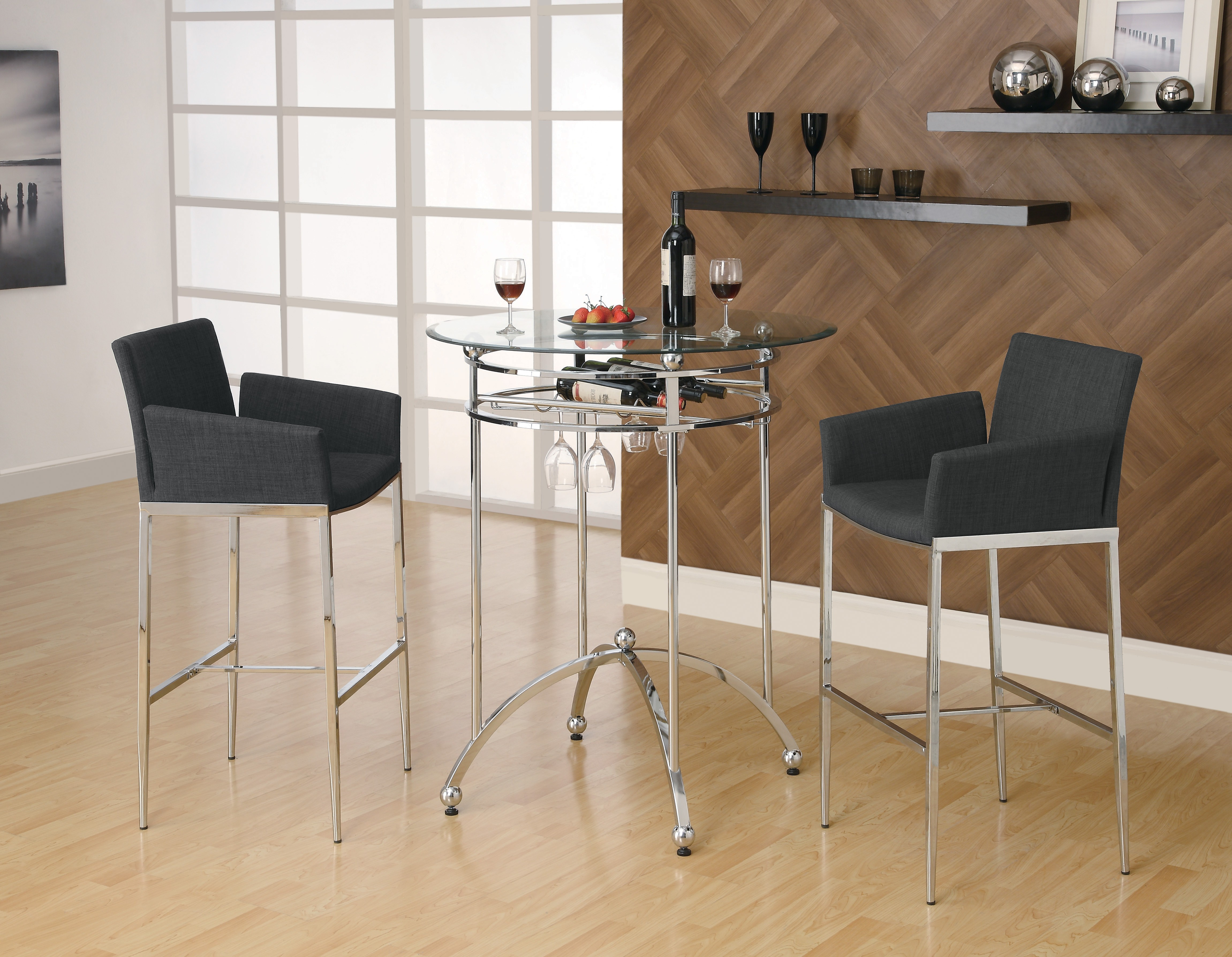 Destany Modern Glass Bar Table Collection Las Vegas Furniture Store Modern Home Furniture