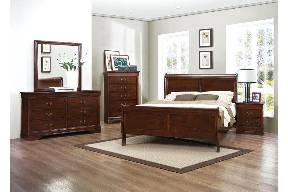 2147 CHERRY BED SET