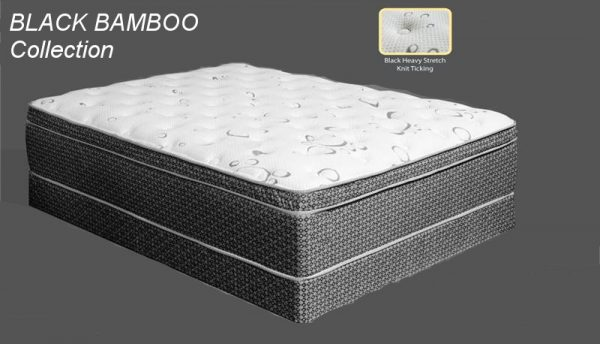 Bamboo Black Mattress Collection Las Vegas Furniture