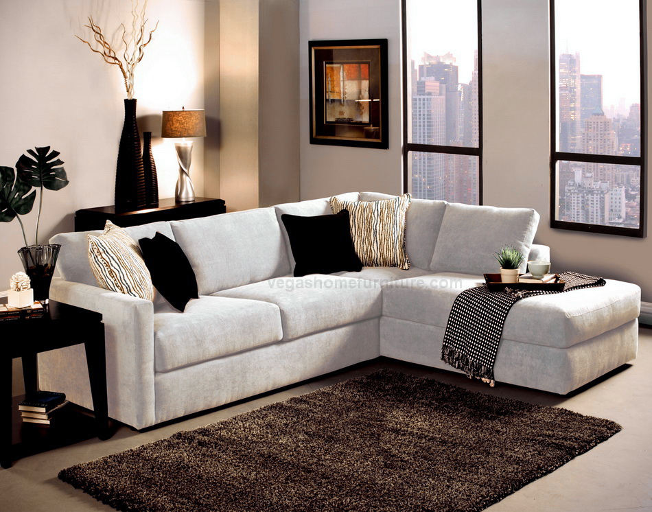 Benchley Cachet Snow Sectional