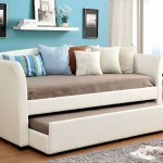Delmar Bonded Leather Day Bed
