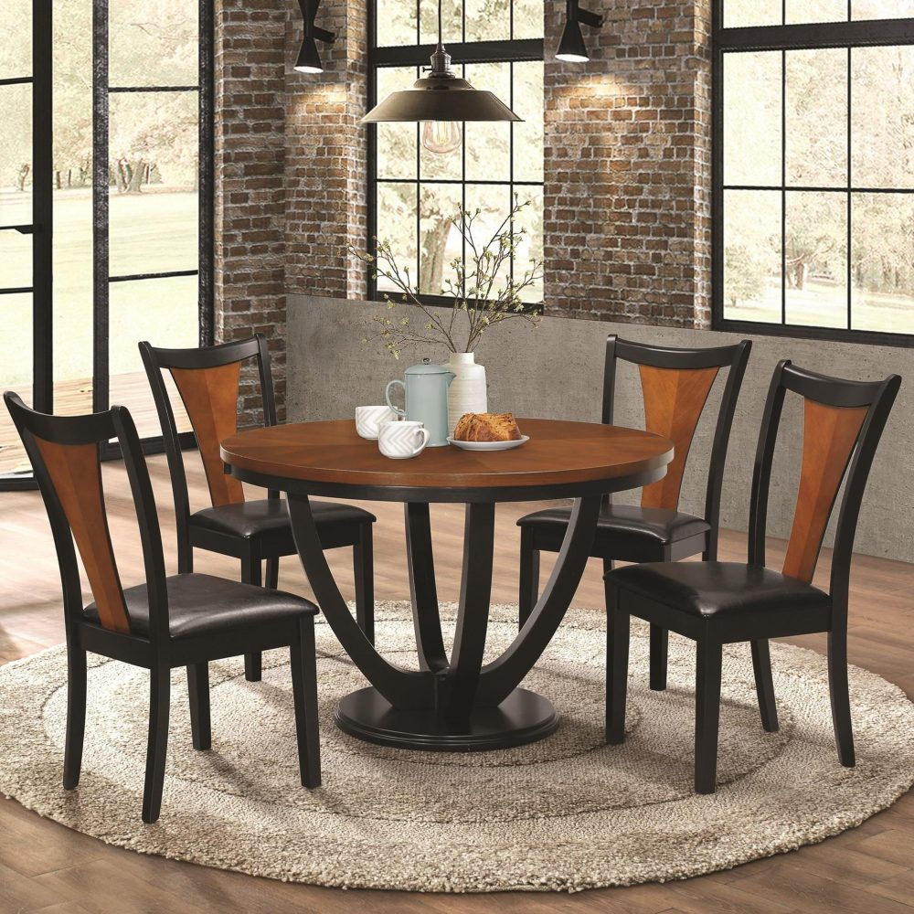 boyer casual two-tone dining set las vegas