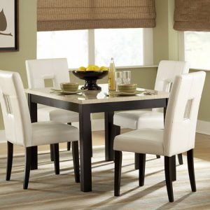 Berthold White Dining Collection Las Vegas Furniture Store Modern Home Furniture