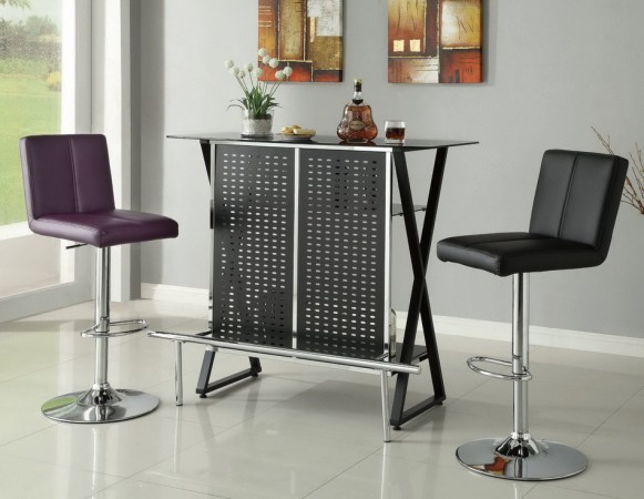 Black X Metal Bar Las Vegas Furniture Store Modern Home Furniture Cornerstone Furniture