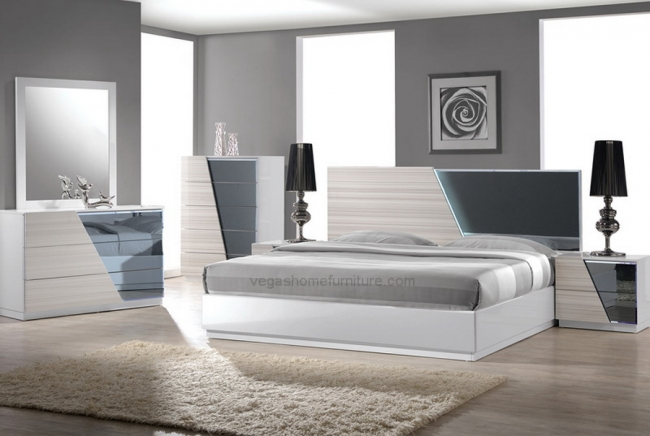 Manchester 4pc Queen Bedroom Set Las Vegas Furniture Store Modern Home Furniture