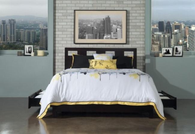 Riva storage platform bed las vegas furniture store for Affordable furniture maui