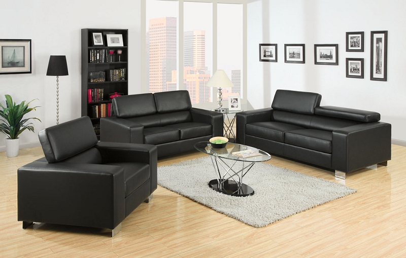 Makri Black Living Room Las Vegas Furniture Store Modern Home Furniture