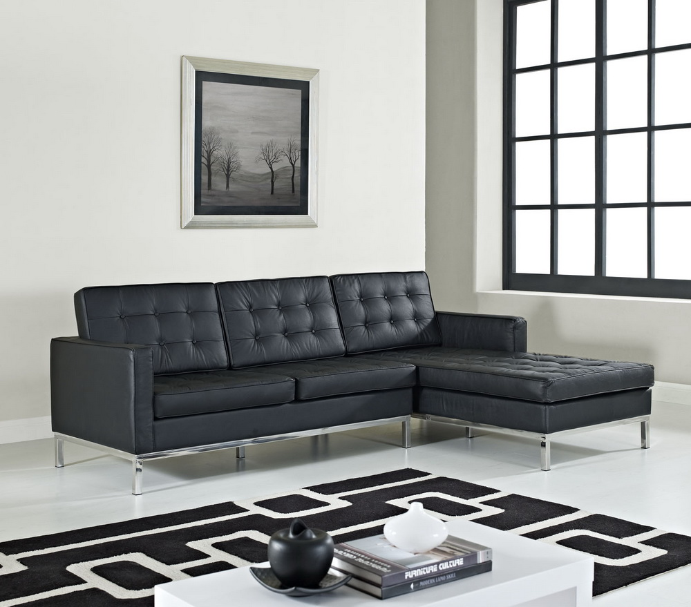 Loft Right Arm Leather Sectional Las Vegas Furniture Store Modern Home Furniture