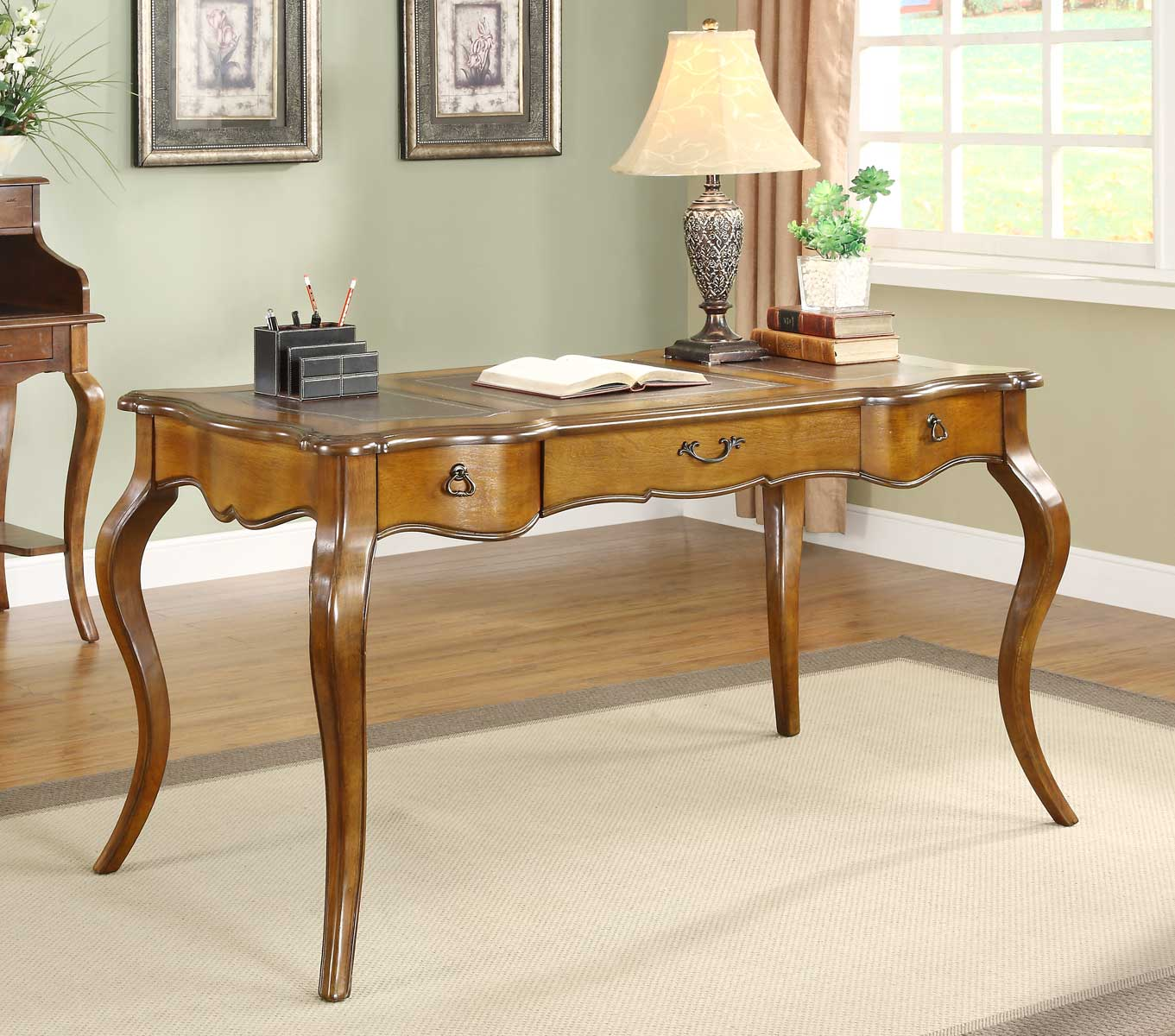 traditional style secretary desk - HD1361×1200