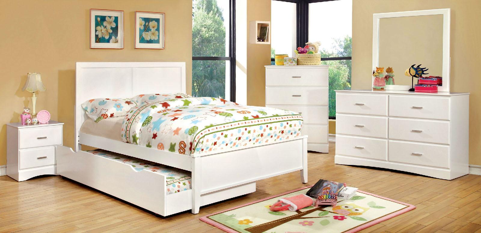 prismo white wood bedroom set las vegas furniture store