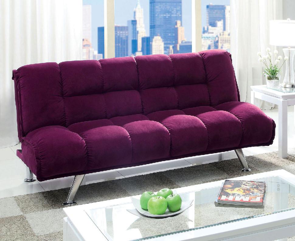 purple-flannelette-sofa-bed-futon-CA2908F