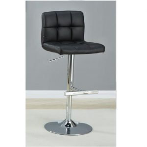 Corfu Modern Black Bar stool