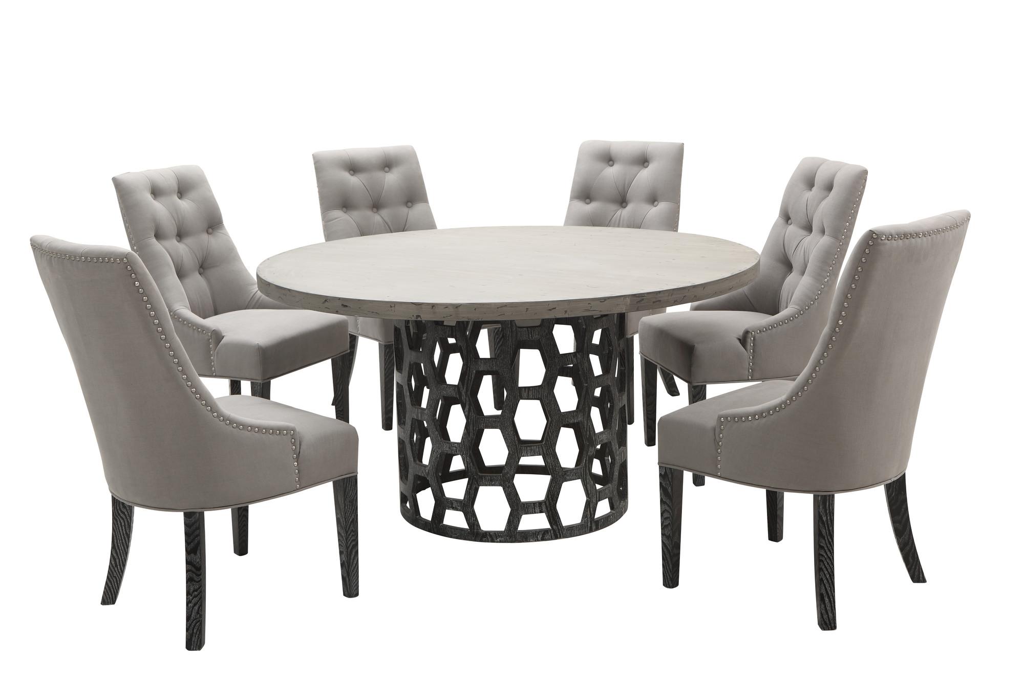 Centennial Round 5pc Dining Table Set Las Vegas Furniture Store Modern Ho