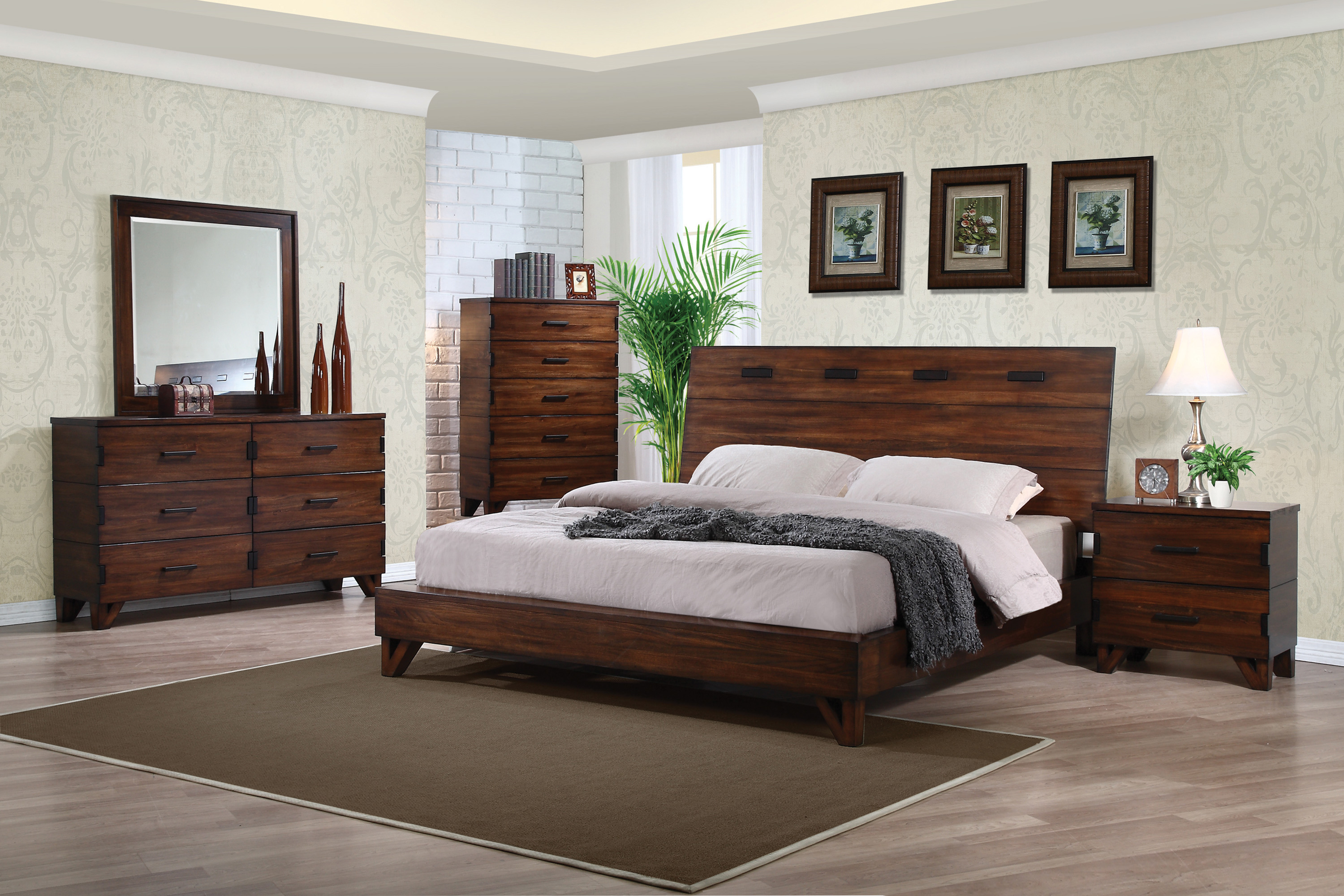 Yorkshire Coffee Bean Bedroom Collection Las Vegas Furniture Store Modern Home Furniture