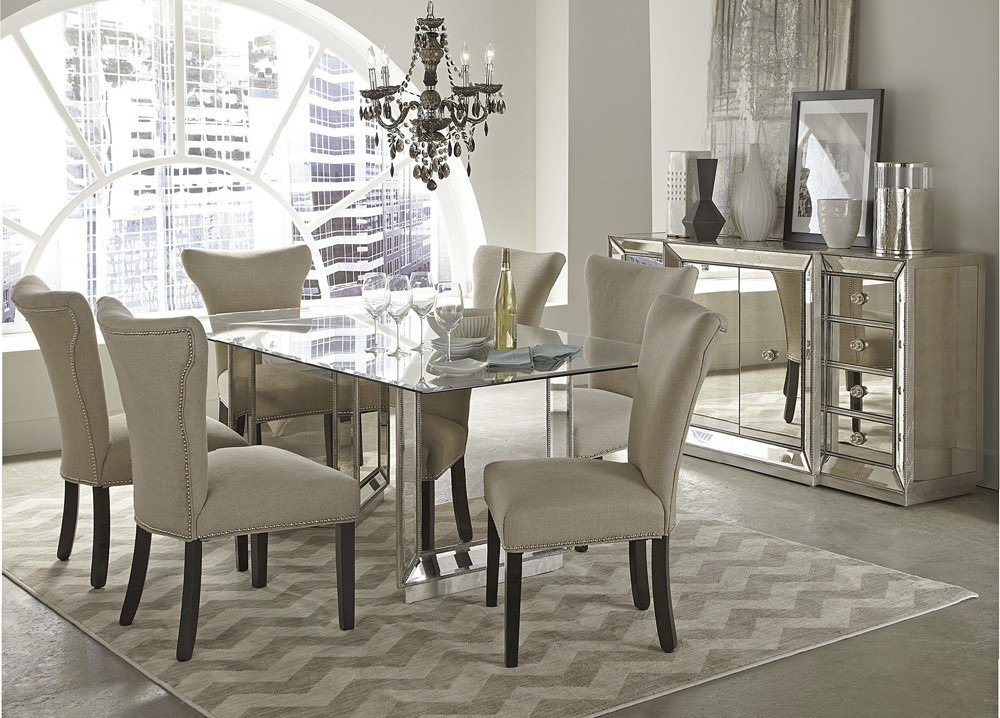 Merveilleux Sophia Mirror Dining Collection