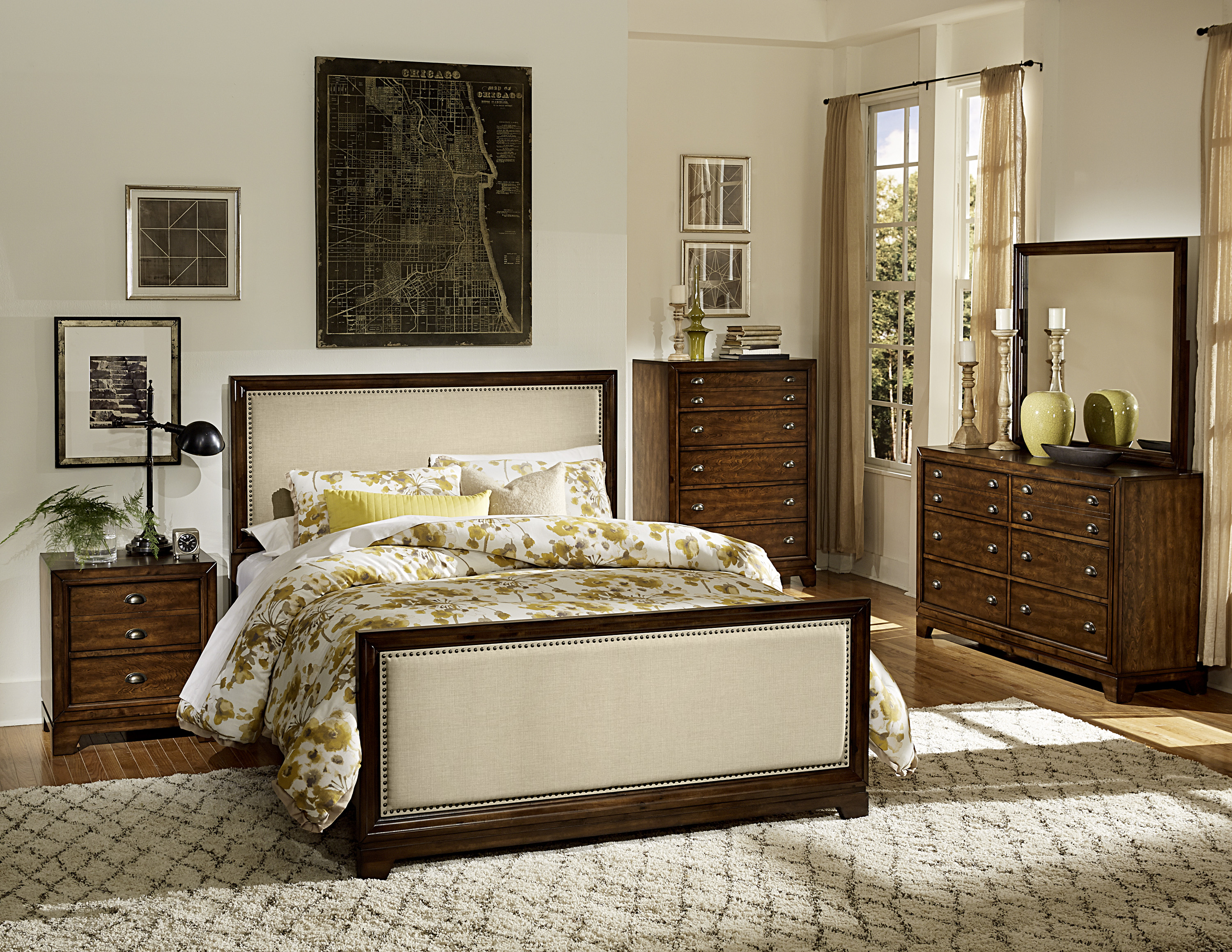4pc bedroom set las vegas furniture store modern home furniture