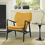 t Chair with Black Wood Frame