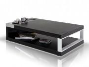 gemstone - modern black oak coffee table | las vegas furniture