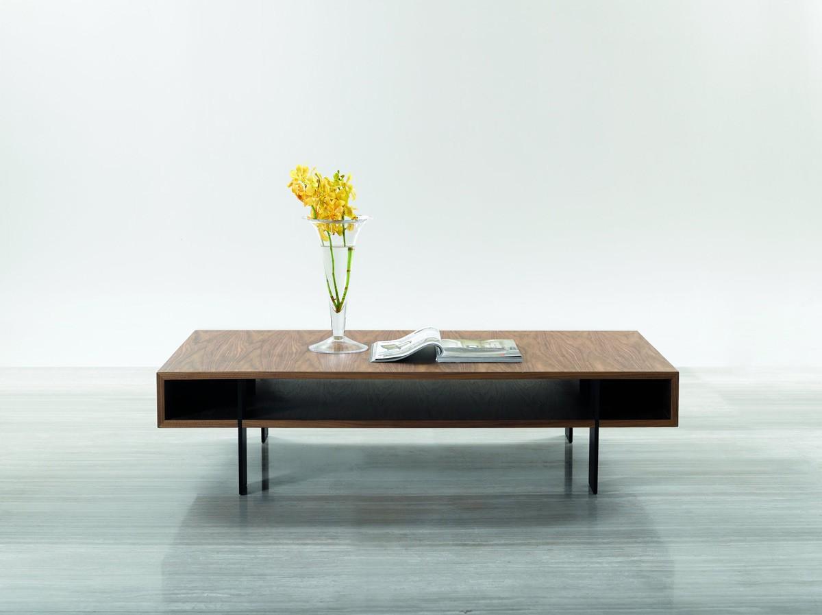 Stilt Modern Walnut Coffee Table