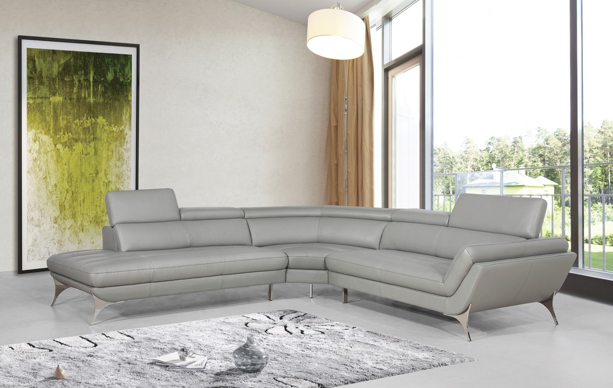 1541 grey sectional