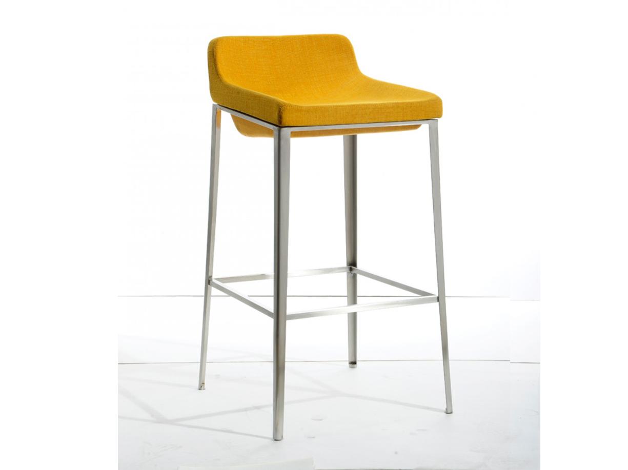 Adhil Yellow Fabric Bar Stool Las Vegas Furniture Store Modern Home Furniture Cornerstone
