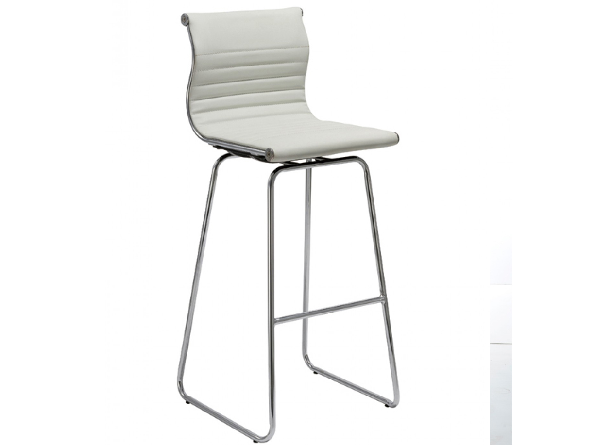 amara modern white bar stool las vegas furniture store