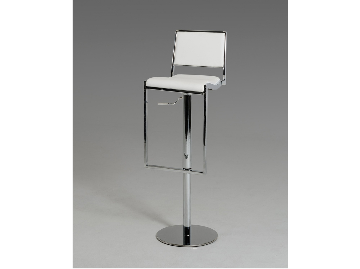 5033b modern white bar stool las vegas furniture store