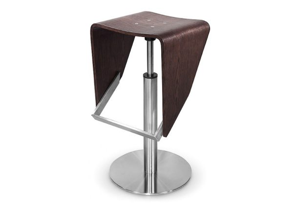 Modrest Jackson - Modern Brown Oak Barstool