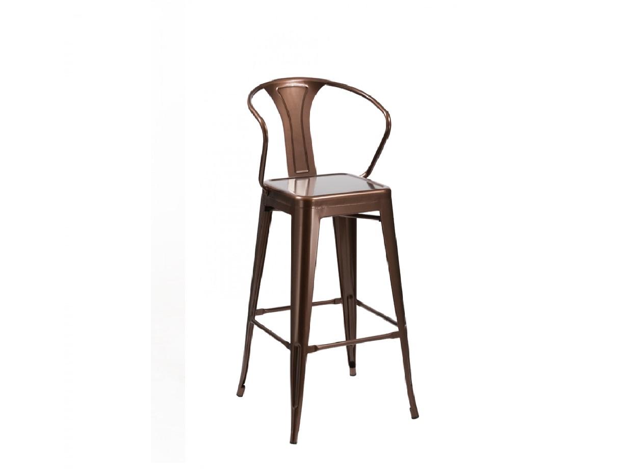 Ned Modern Copper Bar Stool Las Vegas Furniture Store