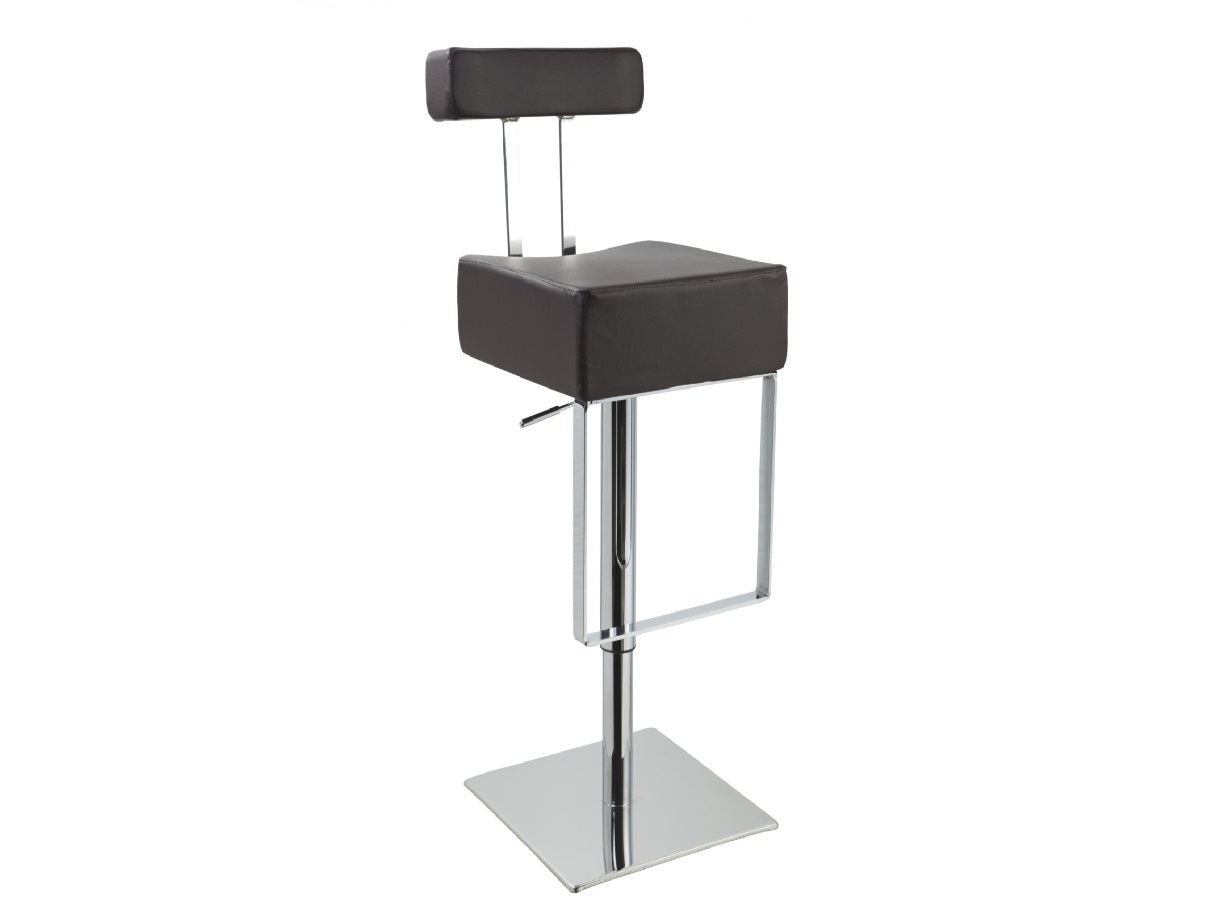 T1054 – Eco-Leather Contemporary Barstool black
