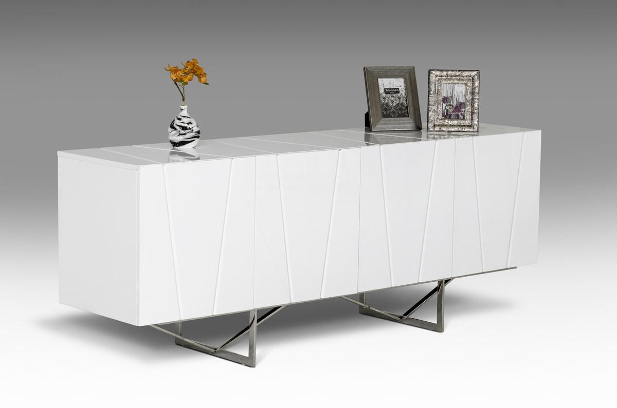 chrysler white high gloss buffet. chrysler white high gloss buffet  las vegas furniture store