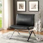 Shana Bonded Leather Accent Chair