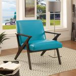 Margaux Bonded Leather Accent Chair