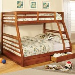 California Twin/Full Bunk Bed w/ Trundle