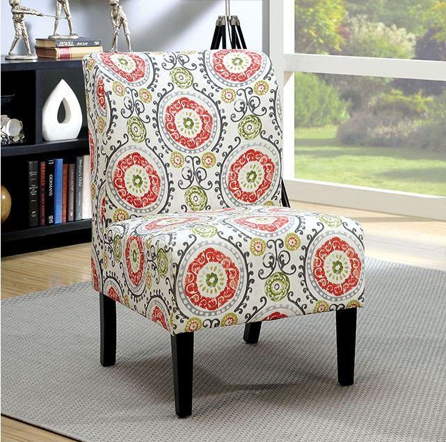 Prue Aboriginal Pattern Accent Chair