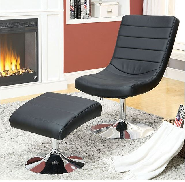 Valerie Lounge Chair With Ottoman Las Vegas Furniture Store Modern Home Furniture