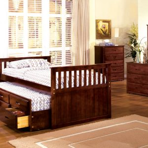 Bella II Dark Walnut Day Bed