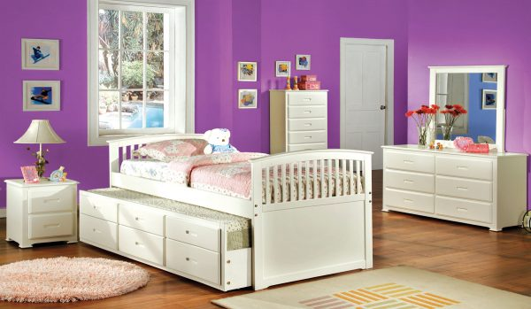 Bella White Day Bed Collection