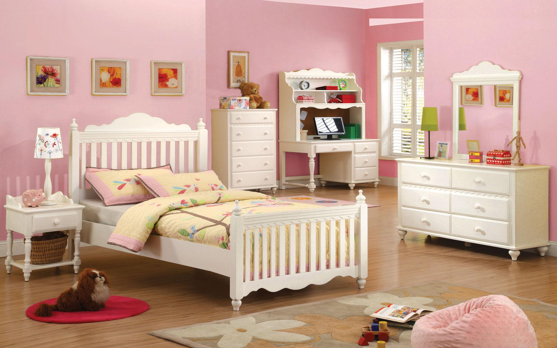 twin bedroom set 99 00 1098 00 white finish twin 4pc bedroom set