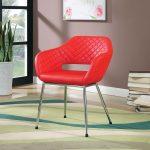 Tasha Bonded Leather Accent Chair