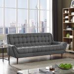 Response Fabric Tufted Sofa