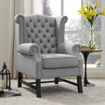 Steer Fabric Arm Chair