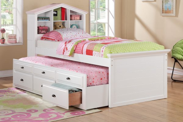 F9223 TWIN CAPTAIN BED