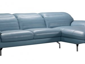 arcola blue sectional
