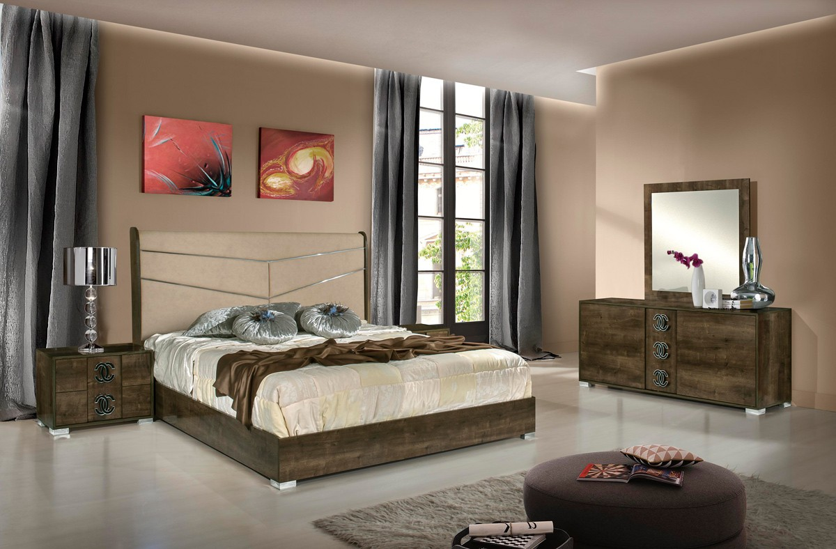 Athen Italian Modern Bedroom Set Las Vegas Furniture