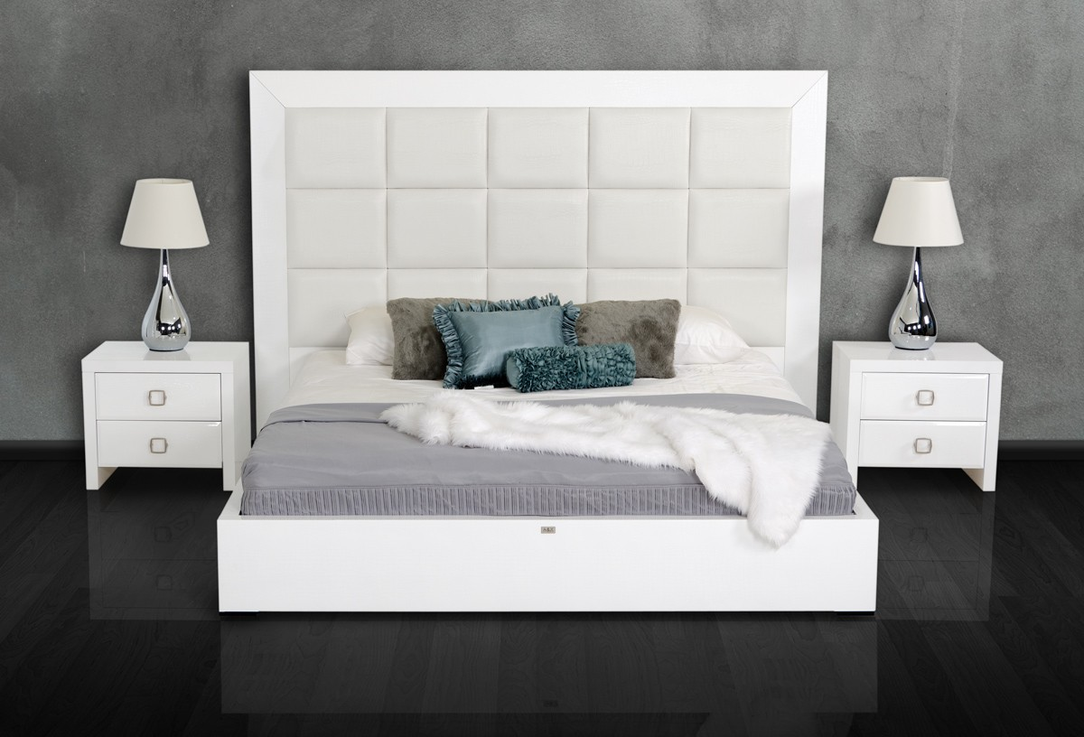 Glam White Collection Las Vegas Furniture Store