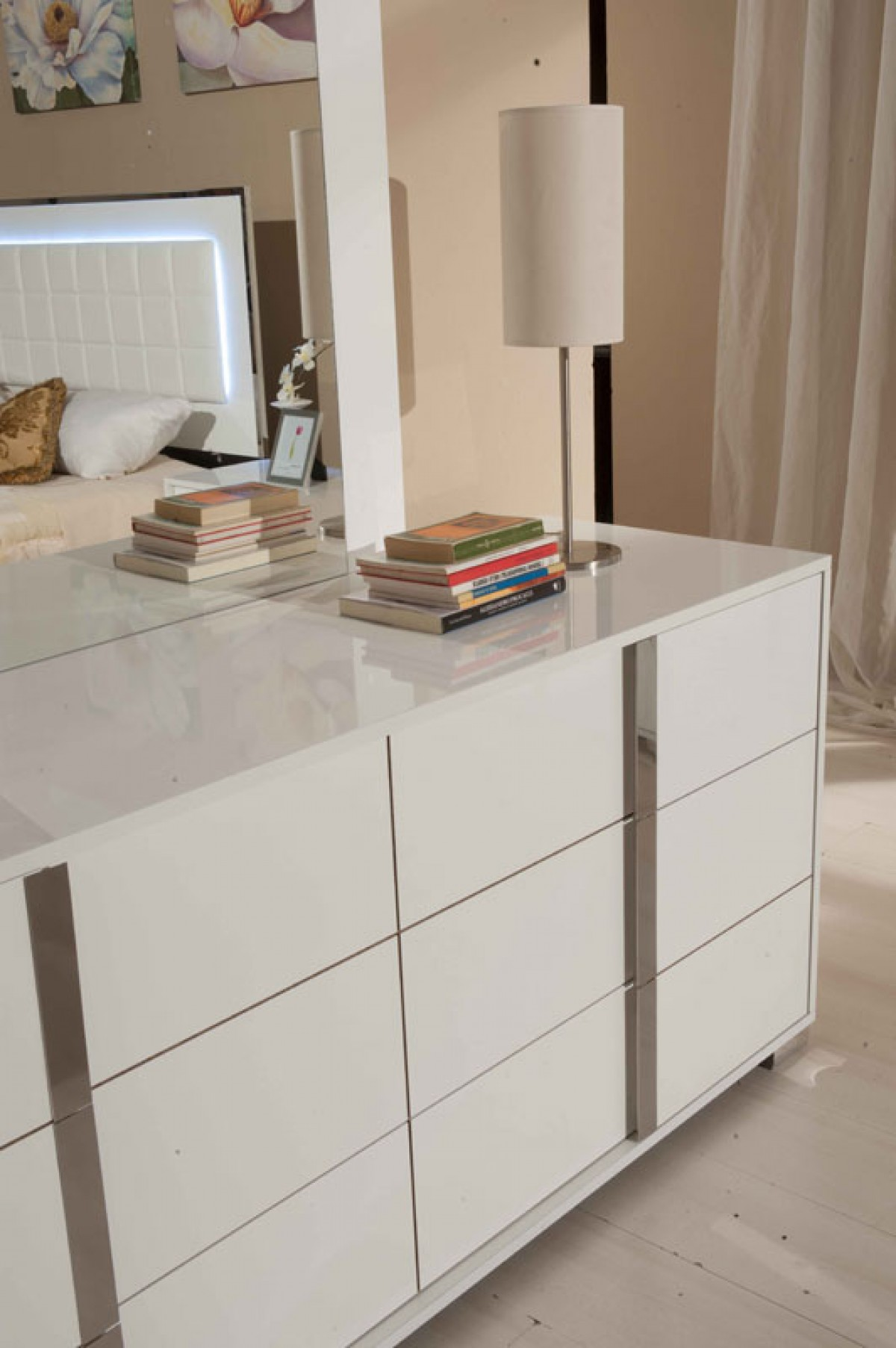 San Marino White Bedroom Set | Las Vegas Furniture Store ...