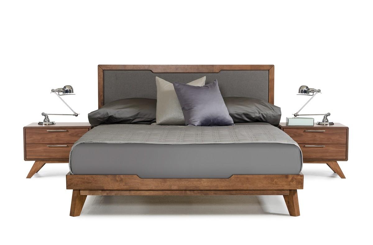 Domus Soria Grey & Walnut Bedroom Set