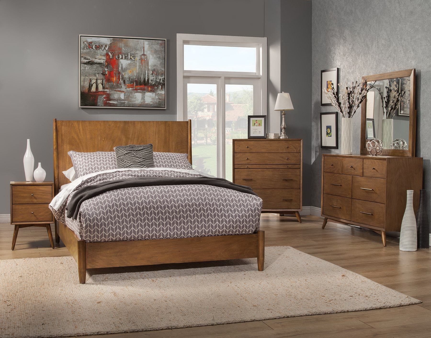 ALP-966 FLYNN BEDROOM SET