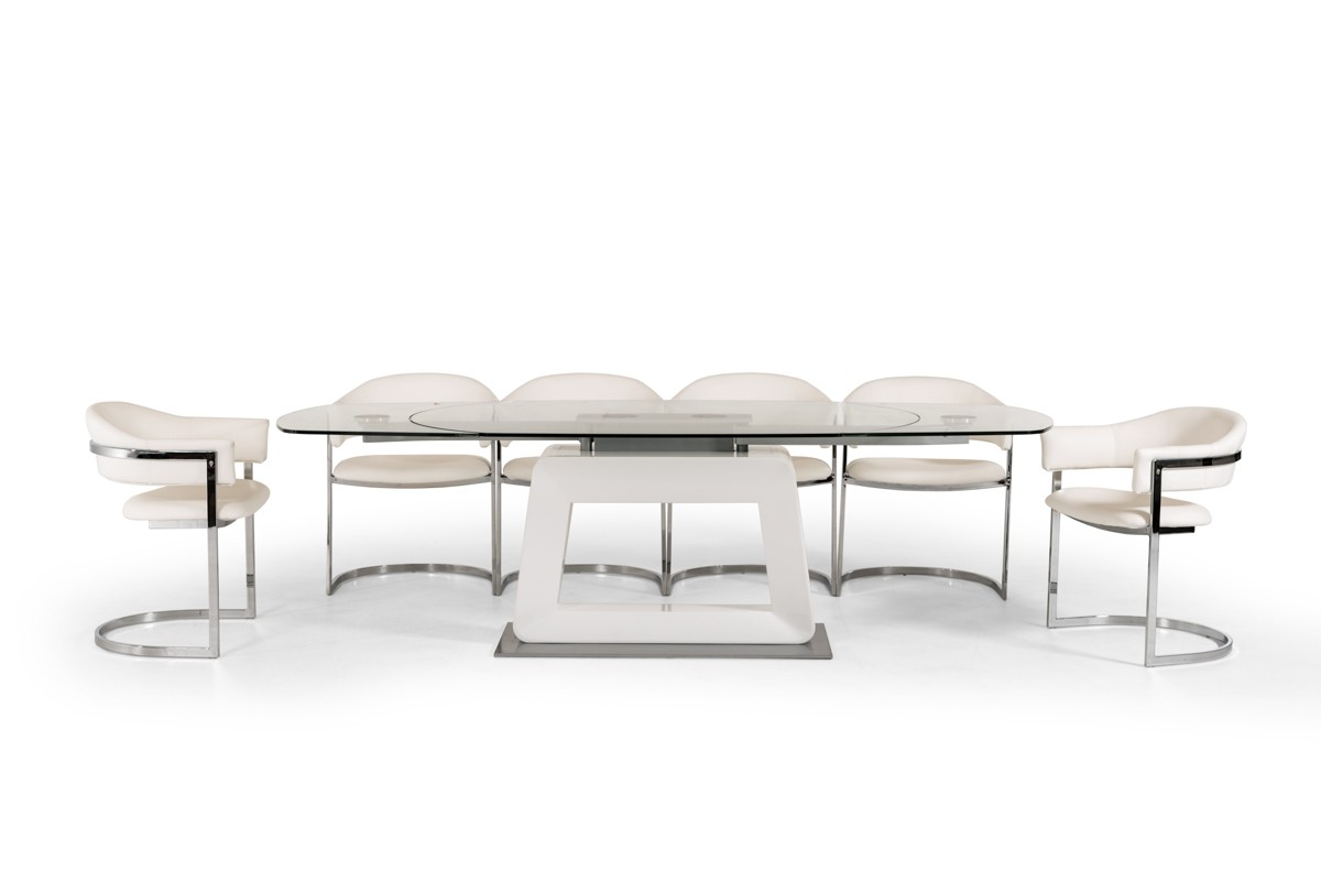 Leida Extendable Dining Collection Las Vegas Furniture Store Modern Home Furniture